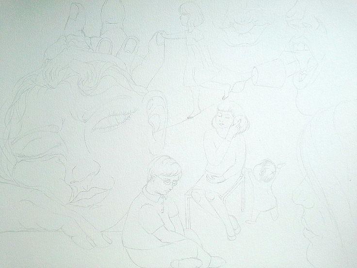Ilustracion en proceso #mavitz #ilustración #dibujo
