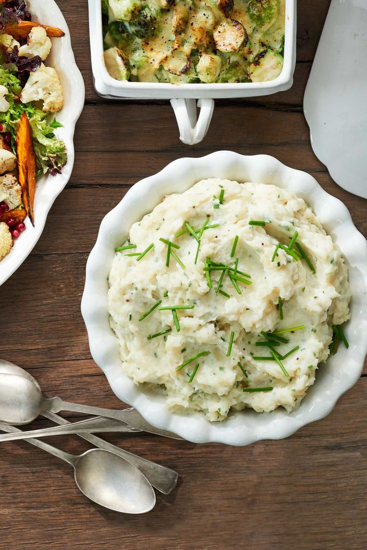 Slow-Cooker Mashed Potatoes  - CountryLiving.com