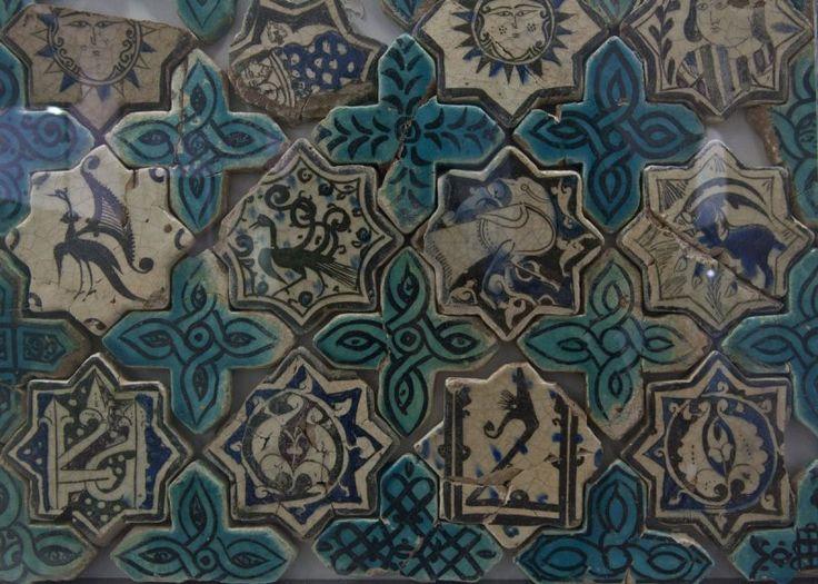 Kubadabad Palace tiles- Konya Karatay Museum