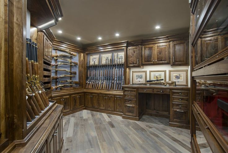 Gun Rooms & Cabinetry