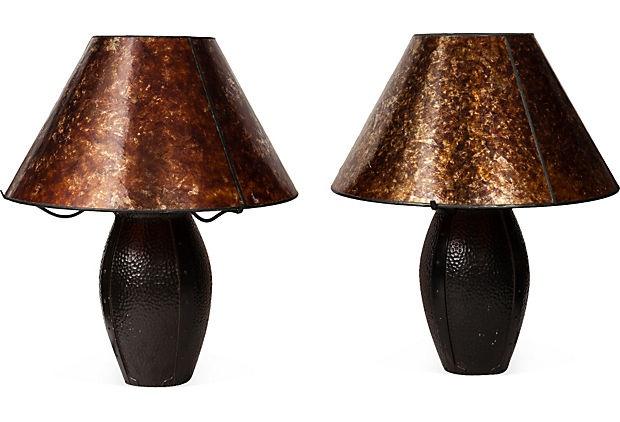 Craftsman Table Lamps, Pair on OneKingsLane.com