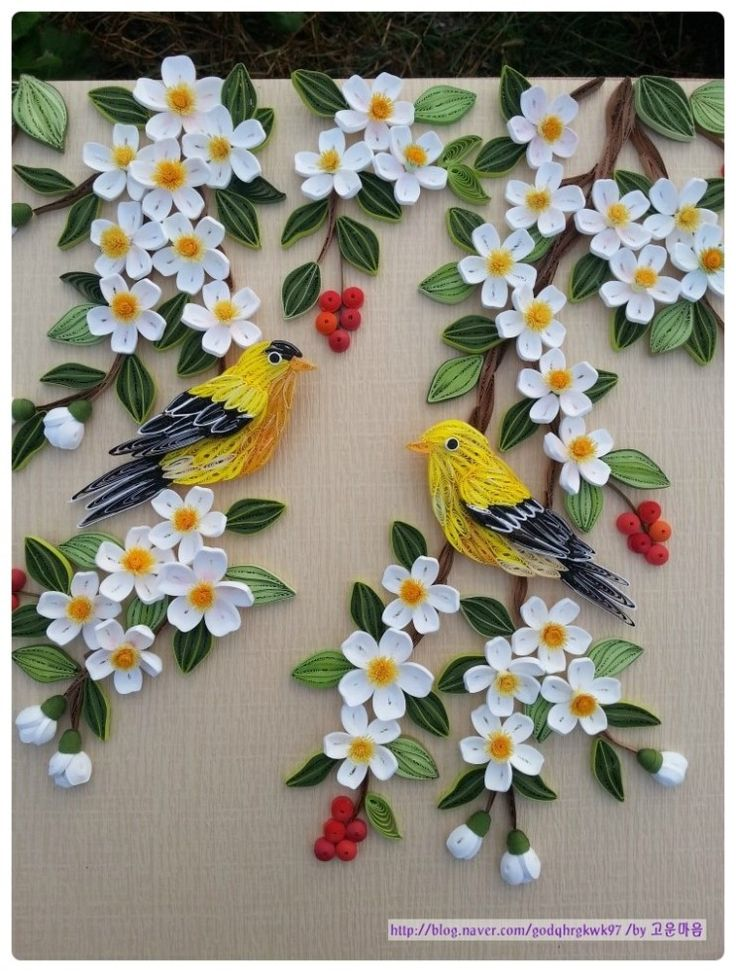 17 best images about quilling birds on pinterest for Best quilling designs