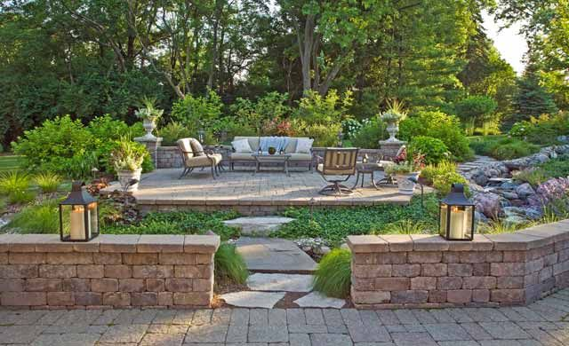 tiered yard landscaping | Landscaping Designs That Reflect ... on Tiered Yard Ideas  id=22861