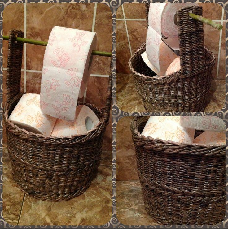 Домик для туалетной бумаги .