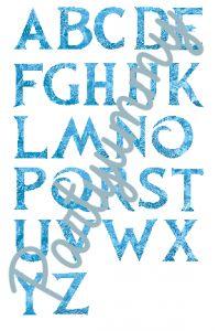 police-ecriture-reine-des-neiges-frozen-font-filigrane