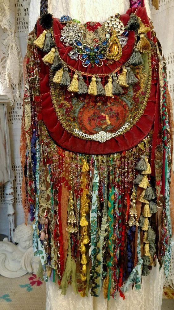 Final Payment Custom for Shirey Vegan Festival Boho Hobo Fringe Bag Purse tmyers #Handmade #MessengerCrossBody
