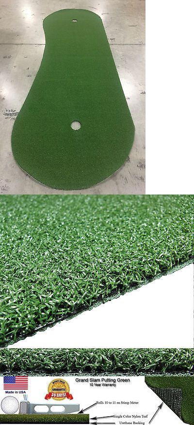 Putting Greens and Aids 36234: 4 Feet X 15 Feet Professional Synthetic Turf Grass Nylon Practice Putting Green -> BUY IT NOW ONLY: $109.99 on eBay!