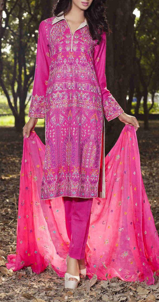 Buy Magenta Embroidered Bambo Slub Salwar Kameez by Taana Baana 2015 Call: (702) 751-3523 Email: Info@PakRobe.com www.pakrobe.com #WINTER #SALWAR #KAMEEZ https://www.pakrobe.com/Women/Clothing/Buy-Winter-Salwar-Kameez-Online
