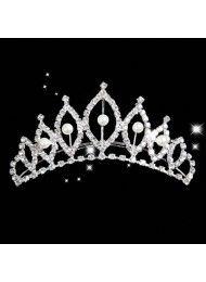 diamant bruids haaraccessoires bruids haar parel kroon fel licht van geluk