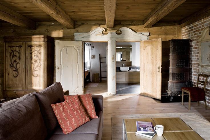 Salvinia lodge house in u awy poland folk poland pinterest country lodges and poland - Traditional polish houses wood mastership ...