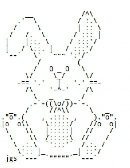 Image result for ascii art rabbit | ASCII Art in 2019 | Ascii art