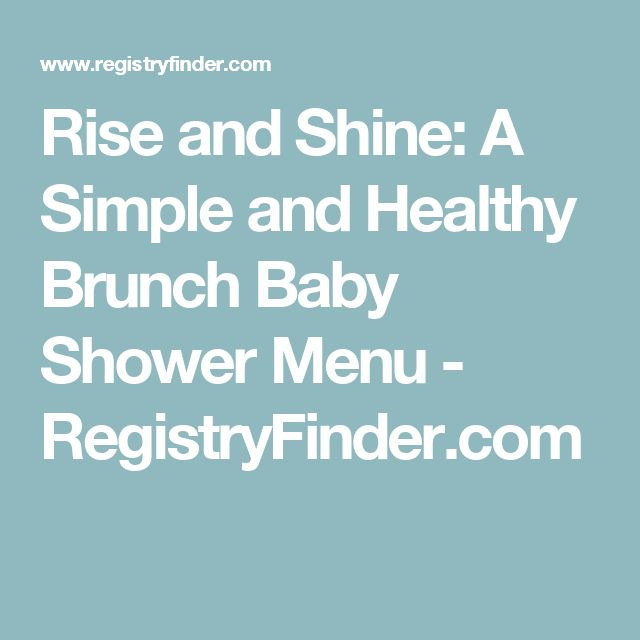 Best 20 Baby Shower Brunch Ideas On Pinterest Baby