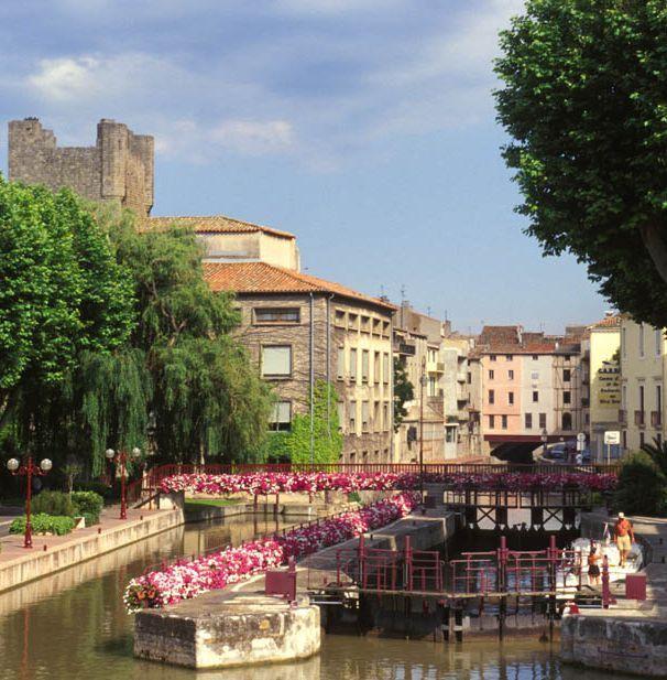 Location vacances gîte Narbonne: Canal du Midi à Narbonne