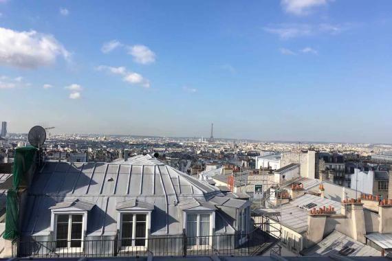 Soirée oenologique sur les toits de Montmartre    Dans un cadre privé, avec une vue exceptionnelle sur les toits de Paris, participez en petit comité à nos ateliers de dégustation    Evénement organisé dans le cadre de la Fête des Vendanges de Montmartre, en partenariat avec L'Envin  Samedi 14 octobre à 17h30 – Tarif : 65€ et 80 €