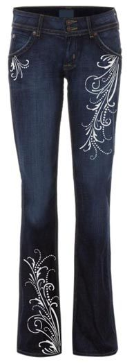 Create today's hot new trend by adding stenciled designs to your jeans and slacks. Our easy fashion stencil kits make it fun