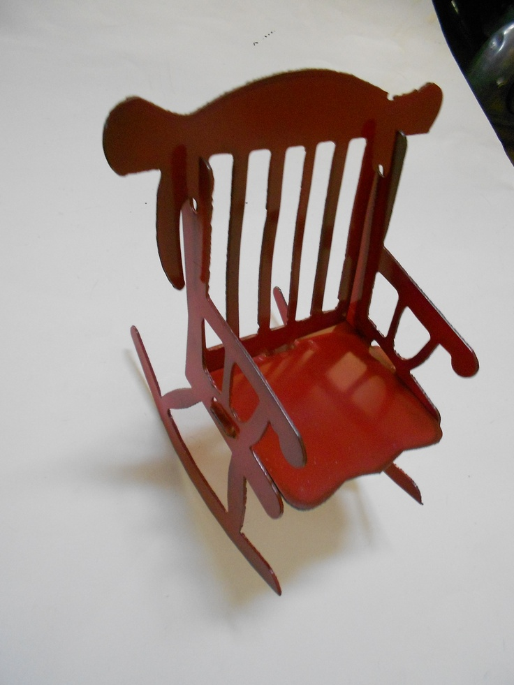 chair puzzle puzzle metal rocking chairs rocking chair rocker metal ...