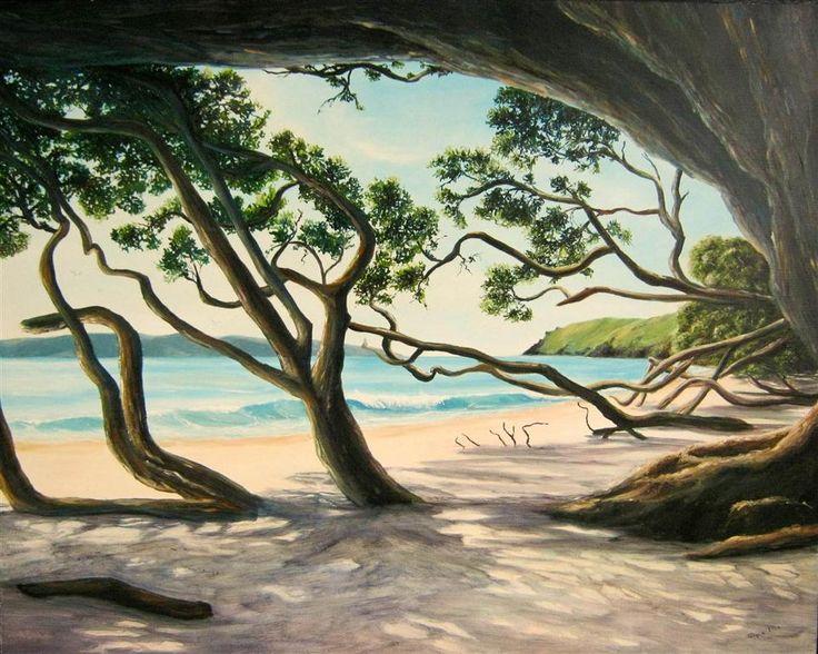 Otama Beach in the Summertime - Jacquie Ellis