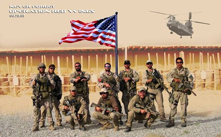 Navy Seals before operation Red Wings