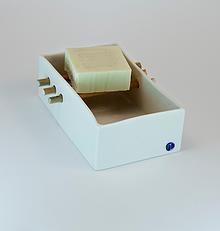 Porcelain soap dish 02