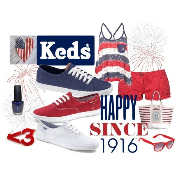 Ready. Set. Summer! with Keds, created by hmb213 on Polyvore