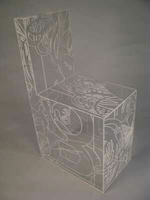 Furniture as art. #mucha #MCAD