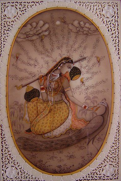 Udaipur is famous for its traditional miniature paintings, which are mural-like paintings mostly depicting incidents from Rajput or Mughal history and legends, or stories from the Hindu Puranas