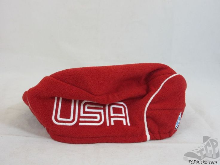 Roots USA America Fleece Beret Hat Cap sz L XL Extra Large SEWN US SEWN National #Roots #USA