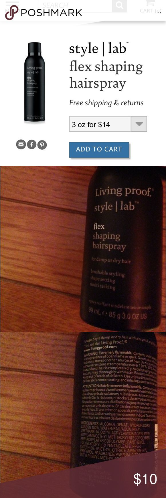 Living Proof Style Lab Flex Shaping Spray Brand new/ never used Sephora Other