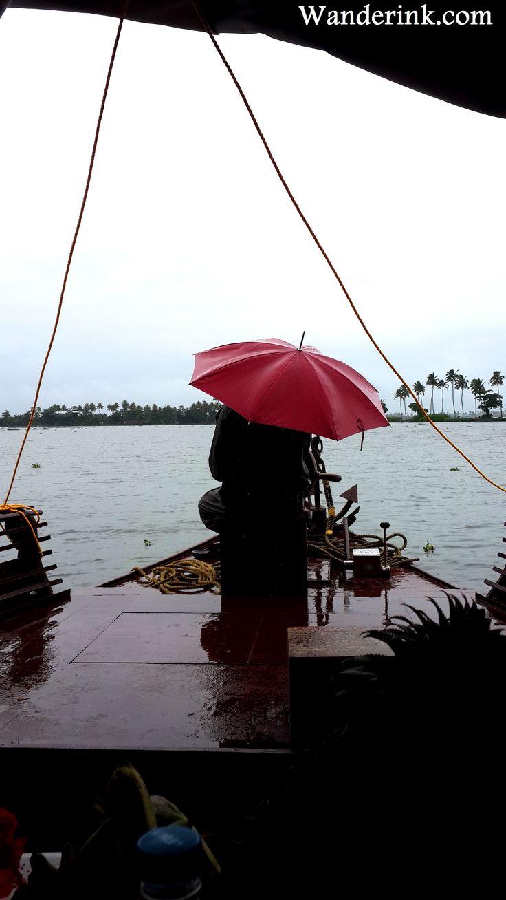 Aboard a houseboat