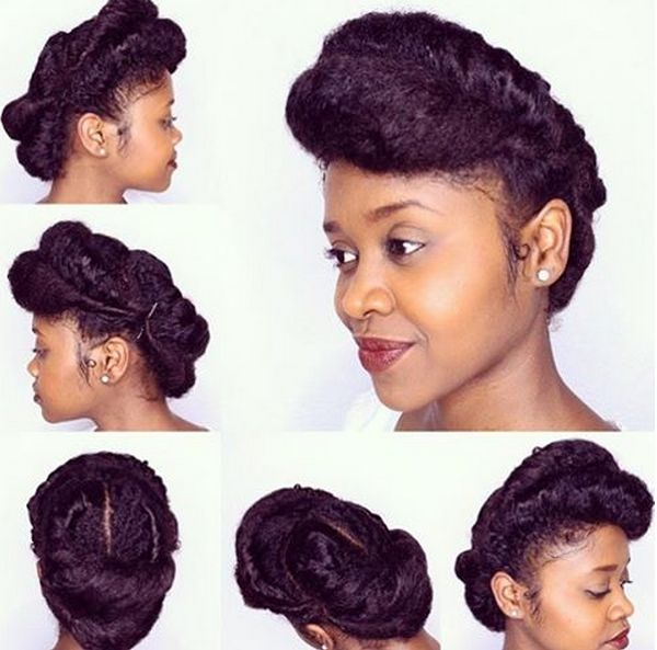 Magnificent 1000 Images About Natural Hair Styles On Pinterest Short Hairstyles Gunalazisus
