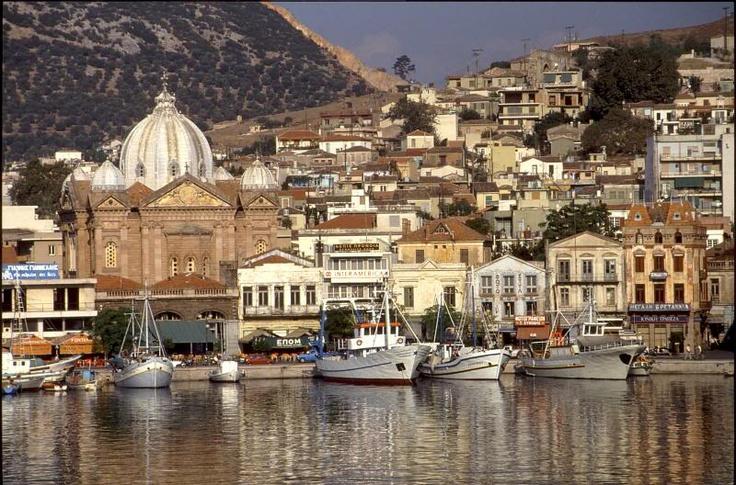 Mytilene Port, St. Therapon Church