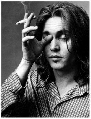 Mary Ellen Mark, Johnny Depp, 1993