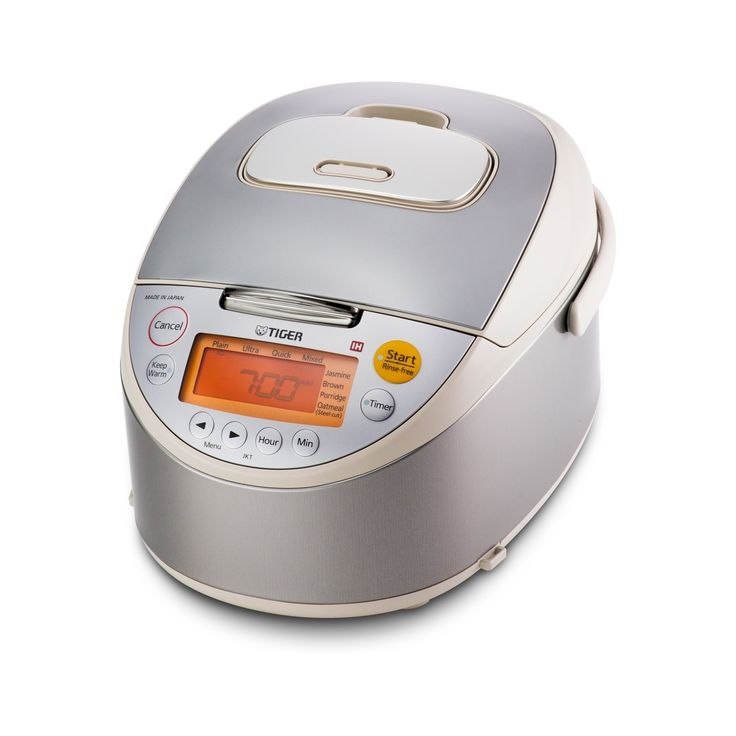 Tiger 5.5 Cup Induction Heating Rice Cooker, Beige