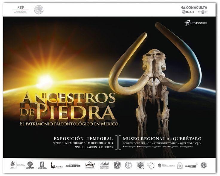 ANCESTROS DE PIEDRA   Exposición en el Museo Regional de Querétaro