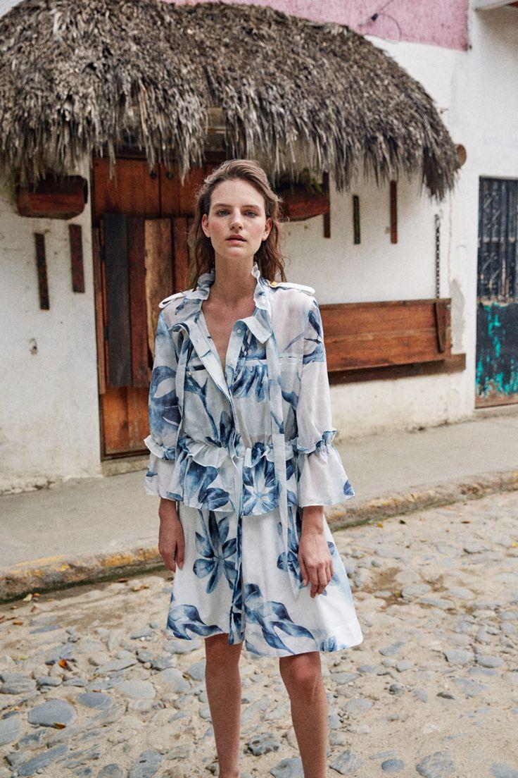 'ALMA AMANTE' AJE RESORT CAMPAIGN 2016/2017  The Sanderiana Shirt Dress