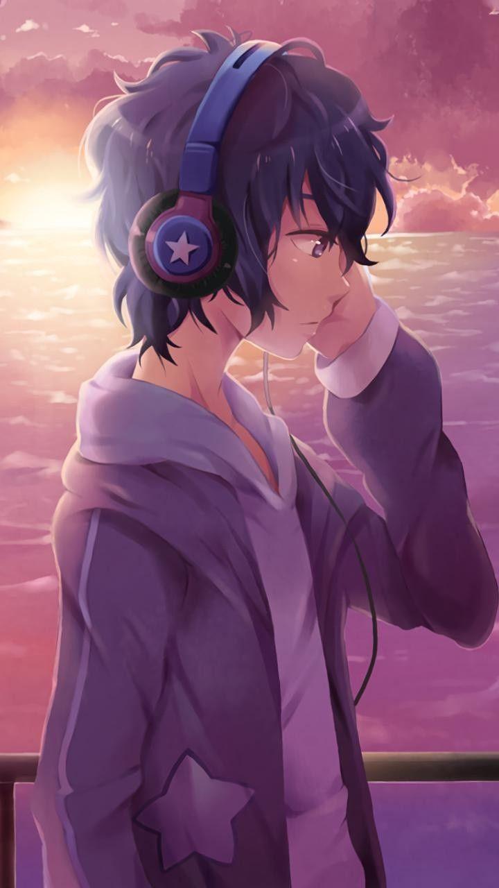 Anime Guy Ilustrasi Ilustrasi Komik Studio Animasi