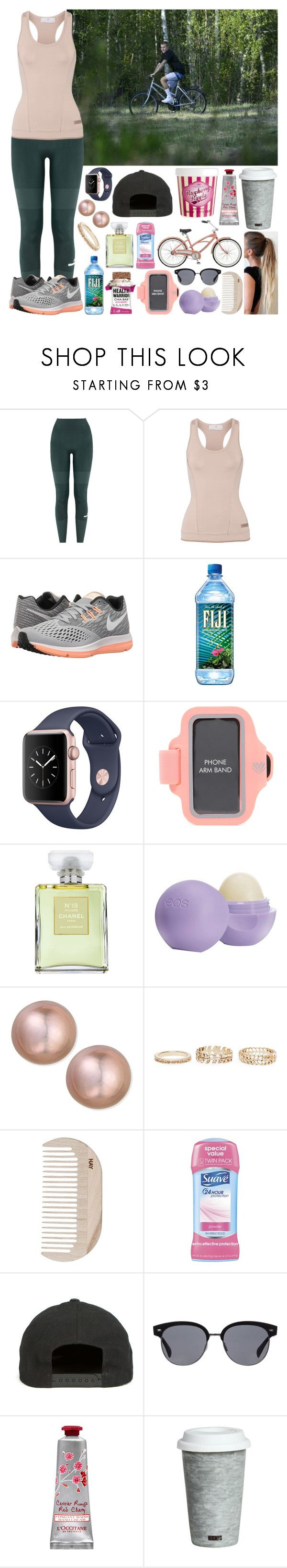 """""""Sin título #1347"""" by gisella-jb-pintos ❤ liked on Polyvore featuring adidas, NIKE, Forever 21, Chanel, Eos, Belpearl, Wet Seal, HAY, Rihanna For River Island and Oliver Peoples"""