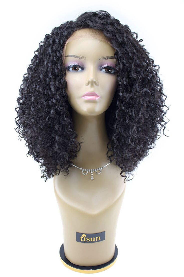Isis Brown Sugar Human Hair Blend Soft Swiss Lace Front Wig BS204