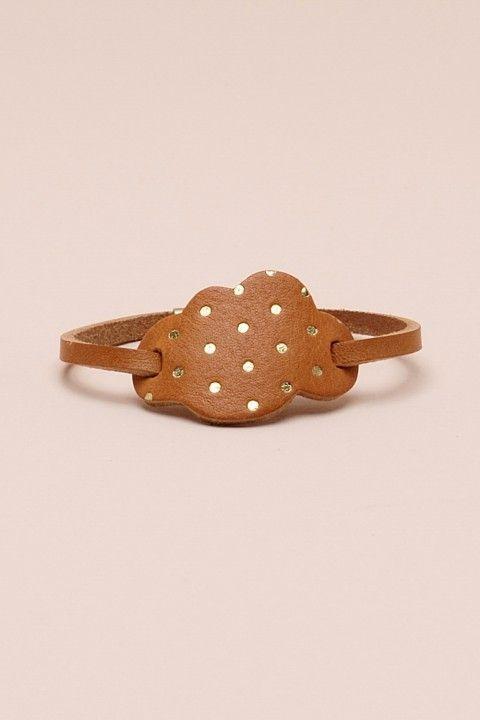 Bracelet cuir Petits hauts