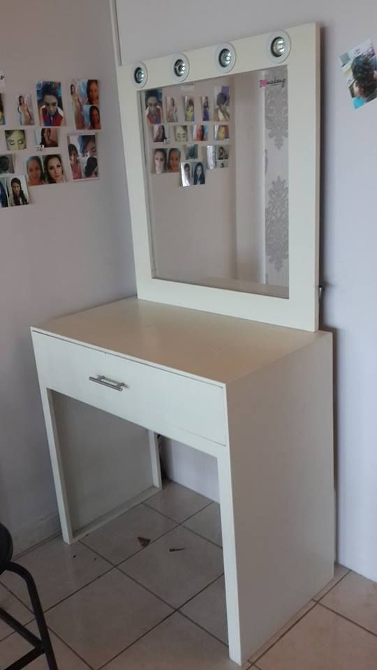 Tocador para maquillaje  Muebles  Pinterest  Maquillaje