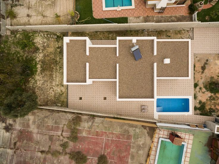 Uma casa com linhas simples e muito charme.