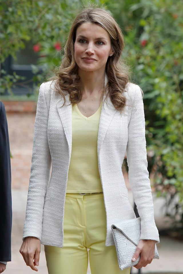 Crown Princess Letizia of Spain 6/18/13