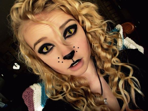 17 Best images about Halloween Costume Ideas on Pinterest - Cat Costume Makeup Ideas