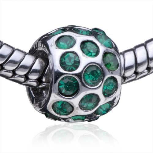 Pugster May Emerald Color Birthstone European Charm Bead Fit Pandora Chamilia Biagi Charm Bracelet Pugster. $17.99. Free Jewerly Box. Money-back Satisfaction Guarantee. Pugster are adding new designs all the time. Fit Pandora, Biagi, and Chamilia Charm Bead Bracelets. Unthreaded European story bracelet design
