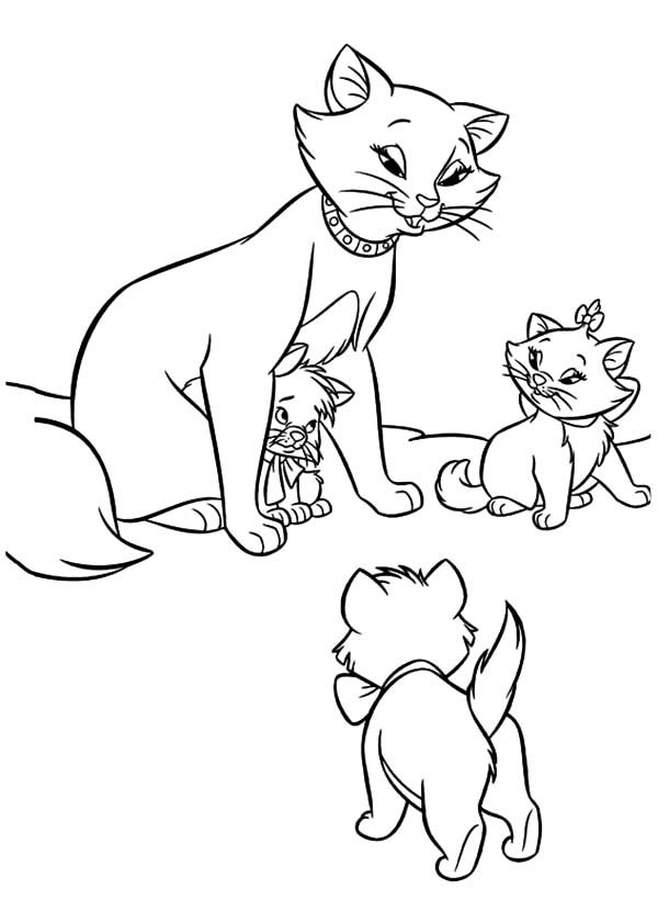 aristocats toulouse coloring pages - photo#5