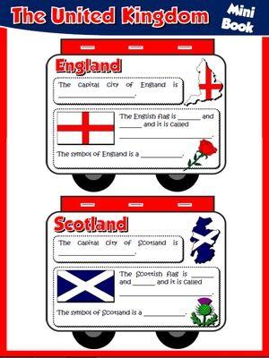 The United Kingdom - Mini Book
