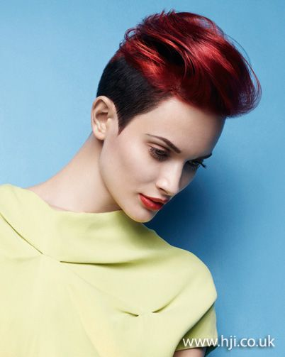 Photo of 2012 short red quiff womens hairstyle hairstyle