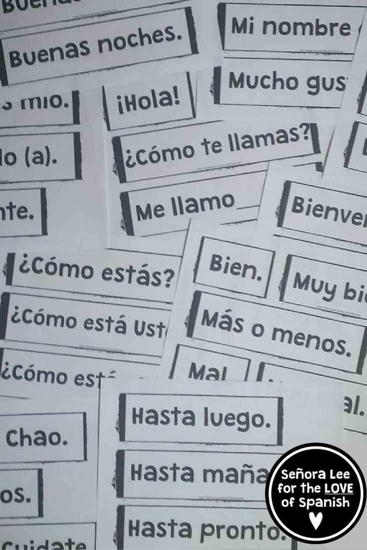 53 Spanish Greetings, Farewells and Expressions of Courtesy Must have visual resource! Instant comprehensible input to display at the beginning of the year.