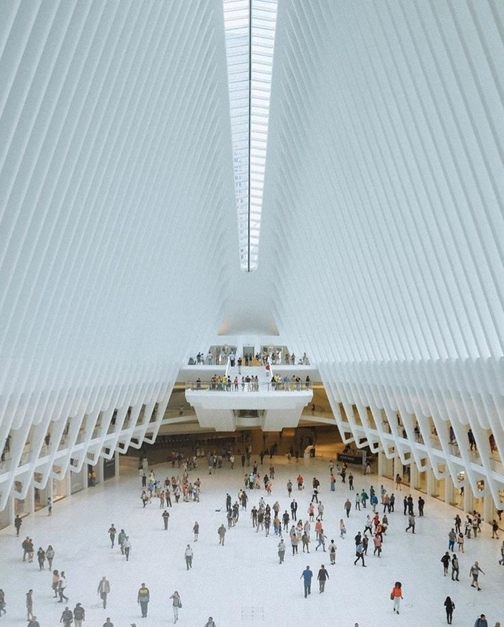 O incrível saguão do novo World Trade Center!