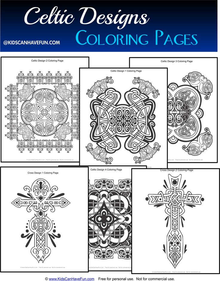 7 Best Celtic Coloring Pages For Kids And Adults Images On Quilt Block Coloring Pages
